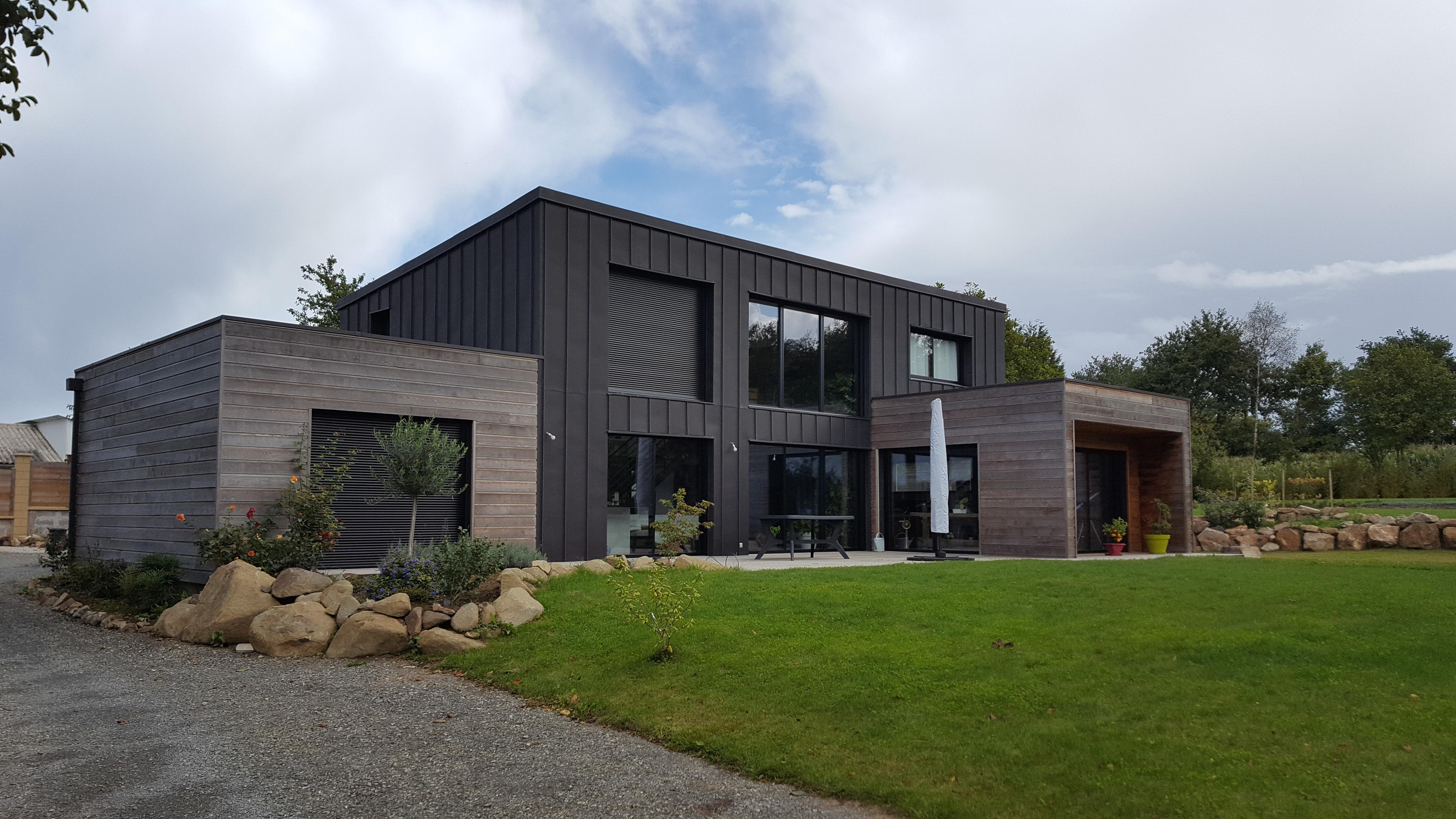 Constructeur De Maison Rennes maisons ossature bois à rennes - scob